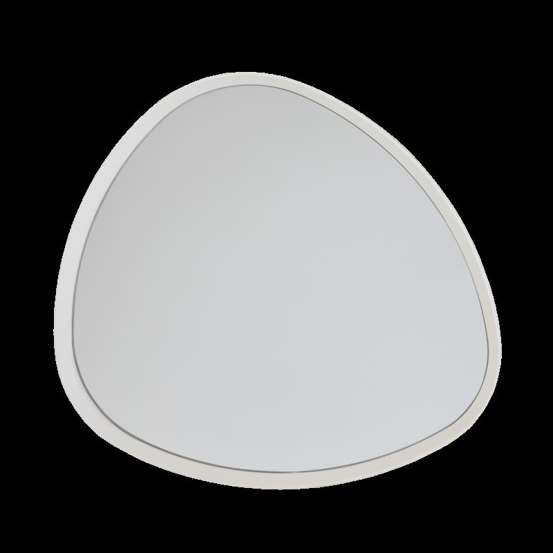 Specchio in MDF laccato Bianco dal design moderno