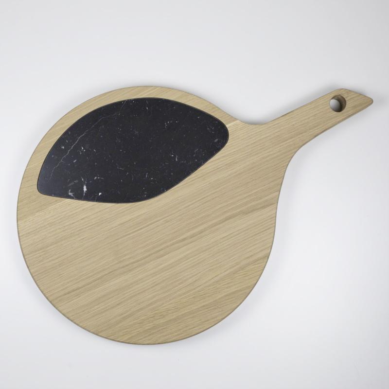 Tagliere in legno naturale trattato con olio per alimenti